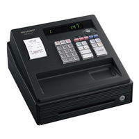 Sharp XE-A147-BK Cash Register w/Thermal Printer